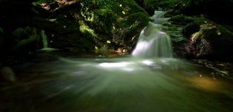 A secret Scottish waterfall. Stock Photography