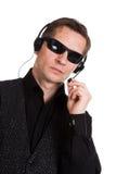 Secret service. The secret agent, secret service stock photos