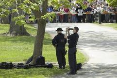 Secret Service agents Royalty Free Stock Image