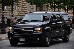 Secret Service close protection vehicle Stock Photography