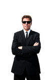 Secret Service Man royalty free stock photography