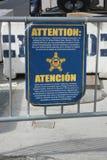 Secret Service Sign royalty free stock image