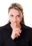 Secret, shh Royalty Free Stock Photos