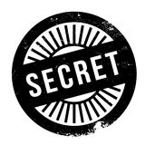 Secret stamp rubber grunge Royalty Free Stock Images
