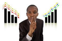 Secret Success and Failure stock image