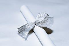 Secret to Silver Ribbon Stock Photos