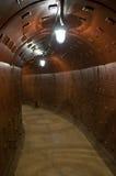 Secret underground refuge Royalty Free Stock Image