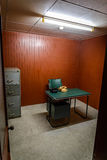 Secret war room in bunker. Vietnam, Saigon Stock Photos