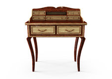 3d secretaire, front view Royalty Free Stock Images