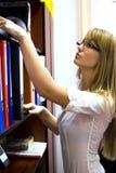 Secretaresse Stock Fotografie
