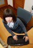 secretaresse Stock Foto's