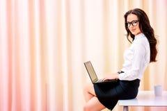 secretaresse Royalty-vrije Stock Foto's
