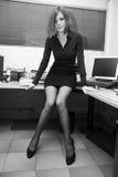 Secretaria atractiva fotografía de archivo