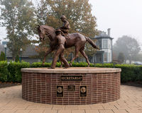 Secretariat sculpture Royalty Free Stock Photography