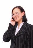 Secretary. Photo of the girl-secretary Stock Images