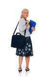Secretary, businesswoman Royalty Free Stock Image