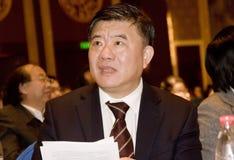 Secretary of Chinese  Ministry of Public Health Stock Photo