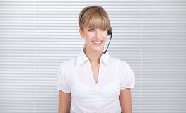 Secretary on the job Stock Image