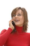 Secretary / Marketing Girl Stock Image