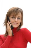 Secretary / Marketing Girl Royalty Free Stock Photo
