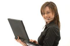 Secretary / Marketing Girl Royalty Free Stock Images