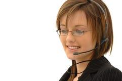 Secretary / Marketing Girl Stock Images