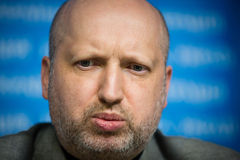 Secretary of the NSDC of Ukraine Oleksandr Turchynov Stock Photography