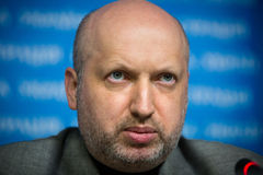 Secretary of the NSDC of Ukraine Oleksandr Turchynov Stock Photo