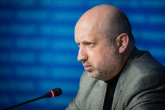 Secretary of the NSDC of Ukraine Oleksandr Turchynov Stock Images