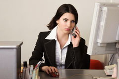 Secretary in a office Stock Photography