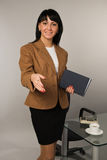 Secretary in a office Stock Images