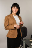 Secretary in a office Royalty Free Stock Photo