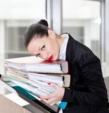 Secretary  in the office Royalty Free Stock Photography