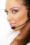 Secretary online Stock Photo