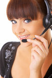 Secretary online Royalty Free Stock Photo