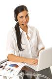 Secretary online Royalty Free Stock Photos