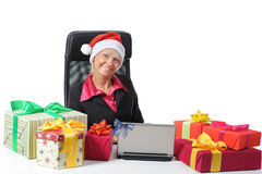 Secretary of Santa Claus Royalty Free Stock Photos