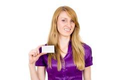 She Secretary specify your text. Isolated on white background stock image