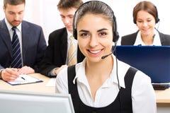 Secretary/telephone Stock Photography