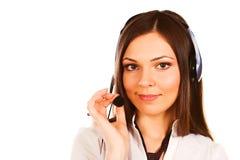 Secretary/telephone operator Stock Image