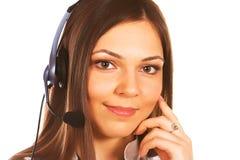 Secretary/telephone operator Stock Photography