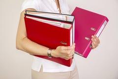 Secretary woman Royalty Free Stock Photography