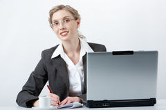 Secretary at work Royalty Free Stock Photography