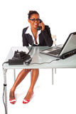 Secretary at work Stock Photo