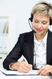 Secretary at work Royalty Free Stock Images