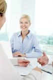Secretary at work Stock Photo