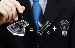 Secretos de la renta Imagen de archivo libre de regalías