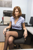 Secretário 'sexy' Imagem de Stock