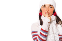 Secrets de l'hiver Photographie stock libre de droits