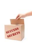 Secrets de succès Photos libres de droits